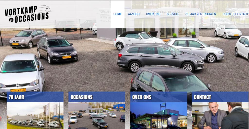 Autohaus Vortkamp jetzt auch in den Niederlanden.
